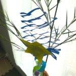 ズボラ母なので、紐なし七夕飾り&紐なし短冊を作って飾りました!