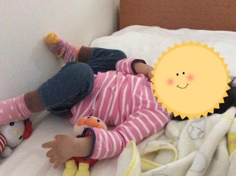 昼寝をしない2歳半、抱っこでの寝かしつけを始めました!