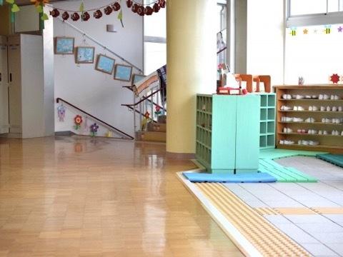 幼稚園の入園説明会でやっぱりのポツン